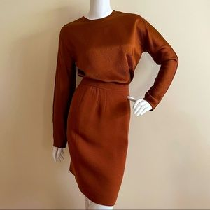 Oscar de la Renta vintage 1975 skirt set
